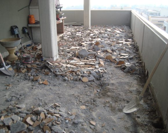 Rifacimento pavimentazione e nuova impermeabilizzazione di terrazza ...